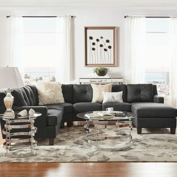 Doane Symmetrical Symmetrical Sectional By Brayden Studio