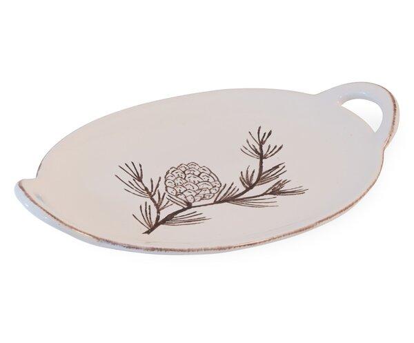 Hoguet Pinecone Prose Platter by August Grove