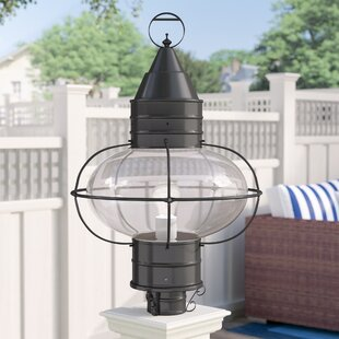 Bargain Withyditch Outdoor 1-Light Lantern Head By Breakwater Bay