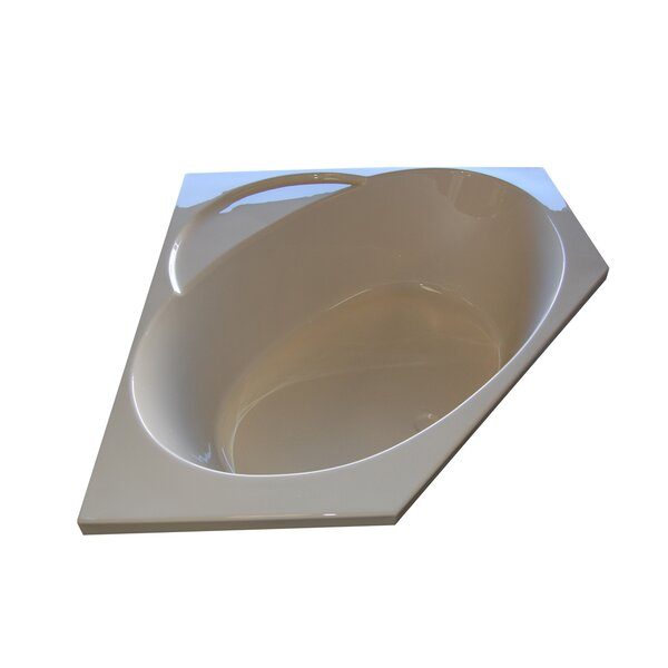 48 x 48 Corner Soaking Tub by American Acrylic
