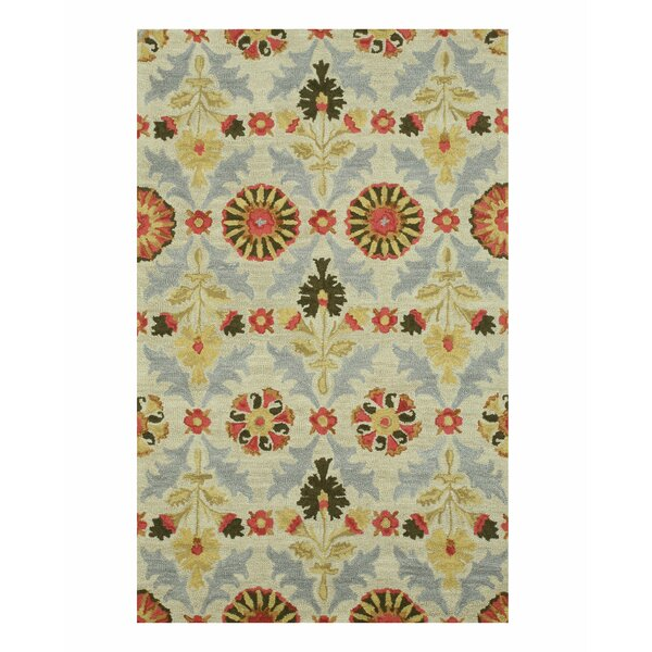 Marcel Hand-Tufted Ivory Area Rug by Eastern Rugs