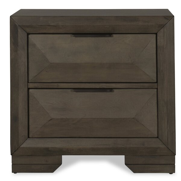Odeya 2 Drawer Nightstand by Gracie Oaks