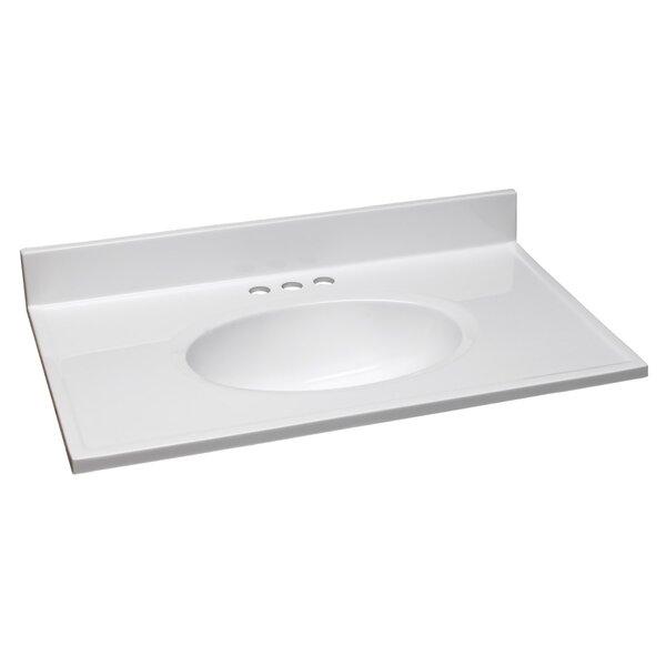 31 Single Bathroom Vanity Top by Design House