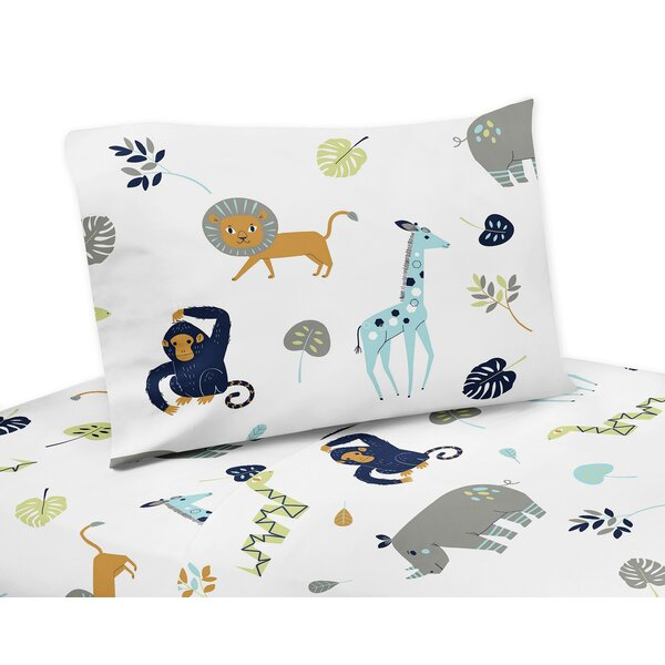 Mod Jungle Sheet Set by Sweet Jojo Designs