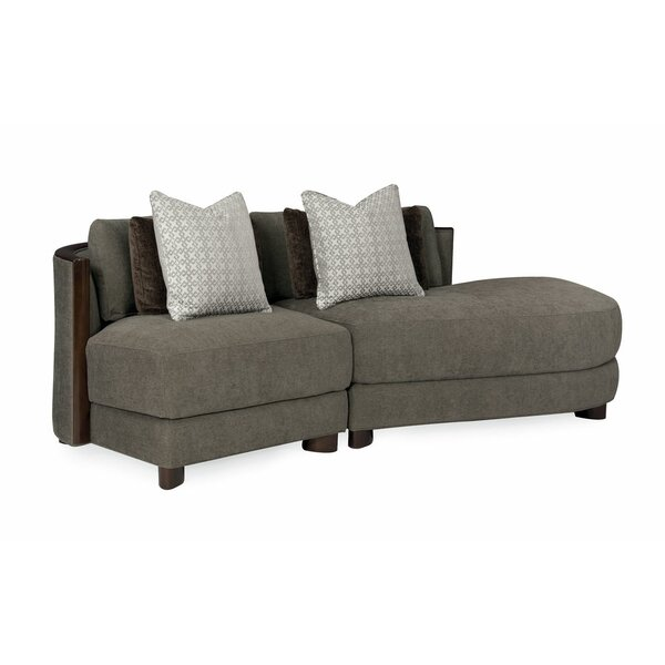 Modern Streamline Commodore Sectional By Caracole Modern