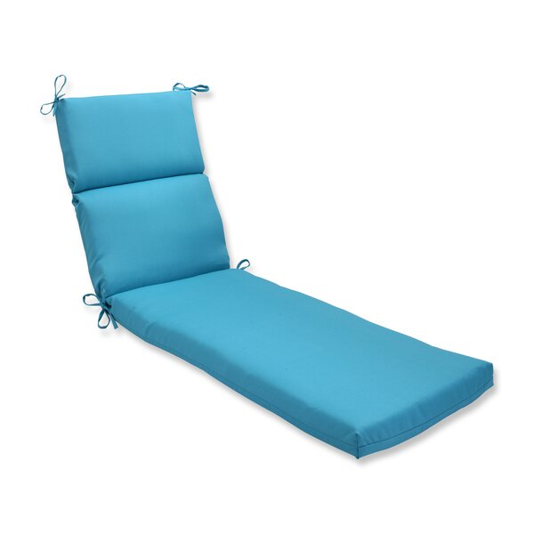 Solid Indoor/Outdoor Chaise Lounge Cushion by Latitude Run