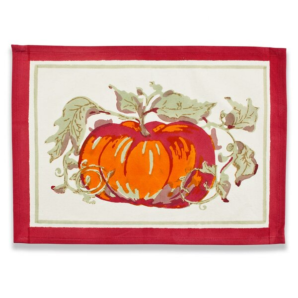 Pumpkin Placemat (Set of 6) by Couleur Nature