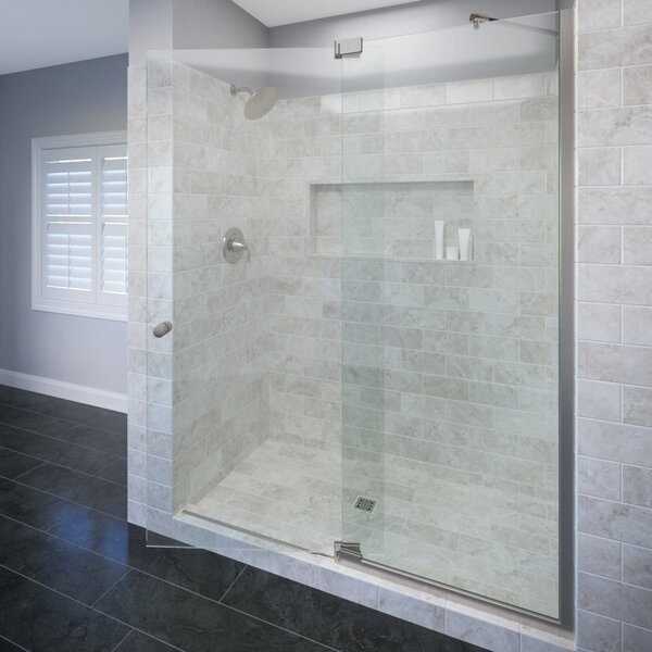 Cantour 36 x 76 Pivot Door and Panel Shower Door by Basco