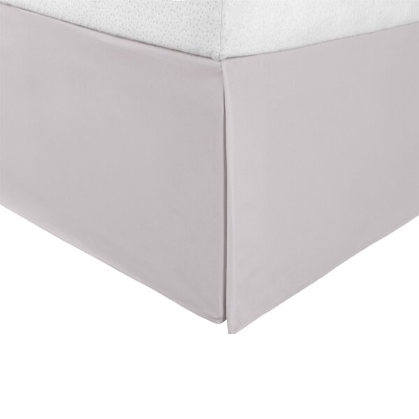 King Size Solid Ivory The Great American Store Premium Quality Pleated Bed Skirt//Dust Ruffle 21 Inch Tailored Drop 1800 Series Brushed Microfiber Bedskirt