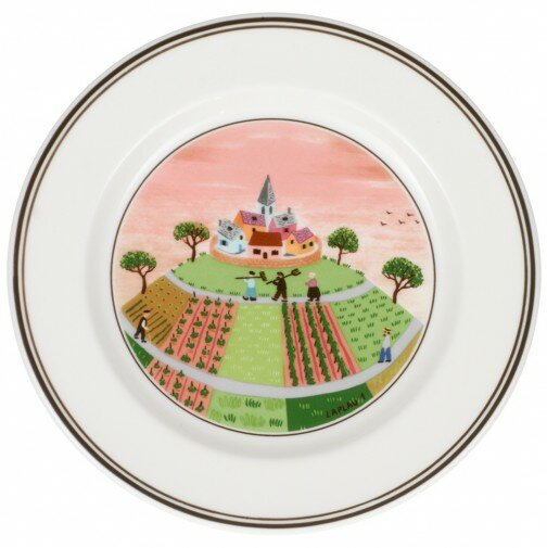 Design Naif 6.75 Bread and Butter Plate by Villeroy & Boch