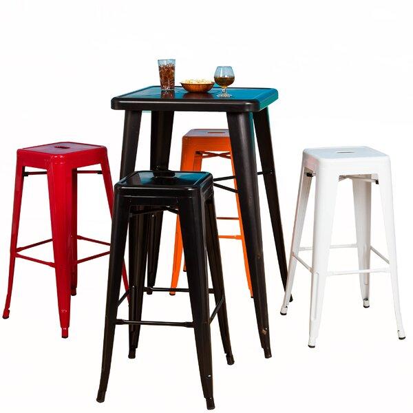 Sachs 24 Bar Stool (Set of 2) by Ebern Designs