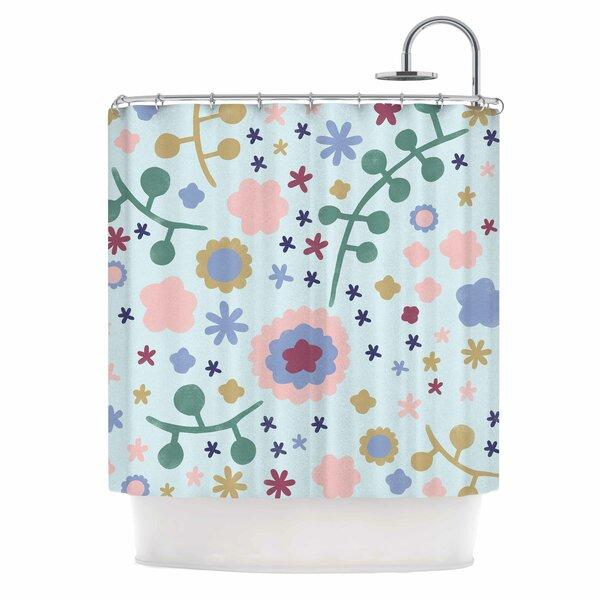 Alik Arzoumanian Morning Flower Shower Curtain by East Urban Home