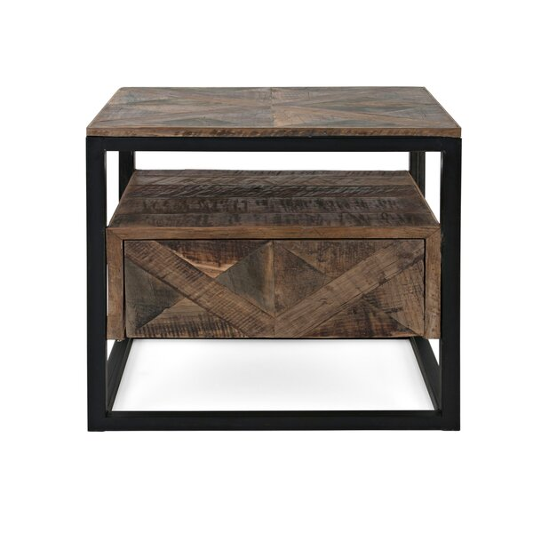 Chewelah End Table by Union Rustic