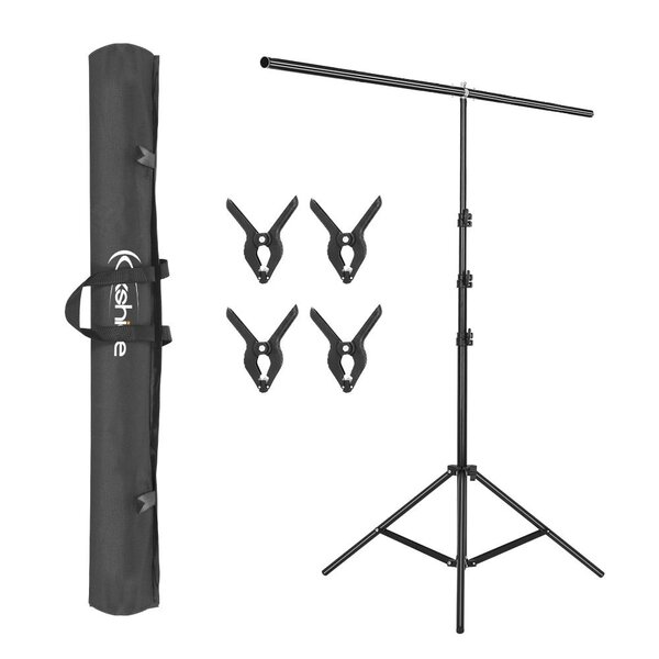 T-Shape Background Backdrop Support Stand Kit