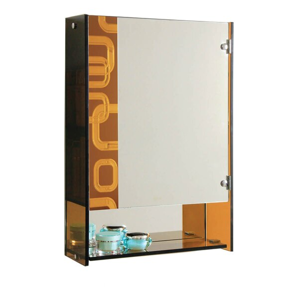 17.71 W x 25.5 H Wall Mounted Cabinet by Fab Glass and Mirror
