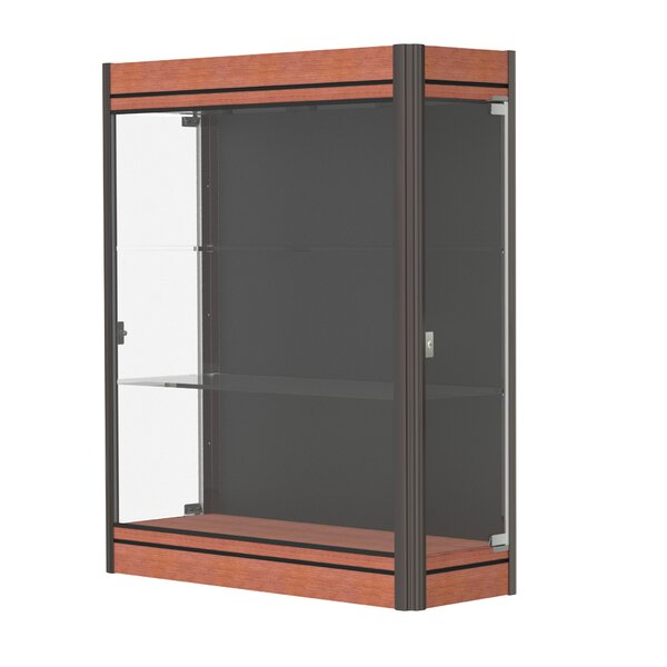 Contempo Series Lighted Wall Display Case by Wadde