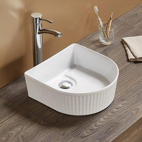 Ceramic Specialty Vessel Batroom Sink