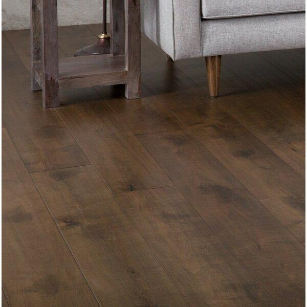 Clay 7-1/2 Engineered Maple Hardwood Flooring in Brown by GoHaus