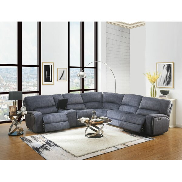 Lebel Power Motion Reversible Sectional By Red Barrel Studio