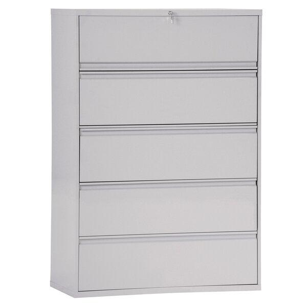 5-Drawer Vertical Filing Cabinet