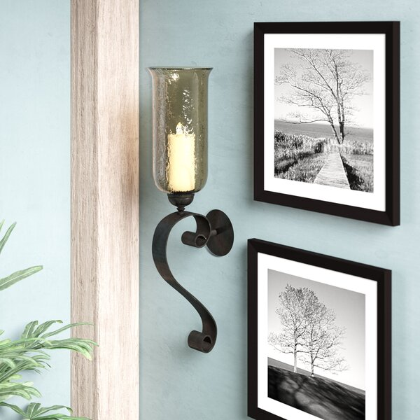 Iron Wall Sconce By Loon Peak by Loon Peak 2019 Coupon