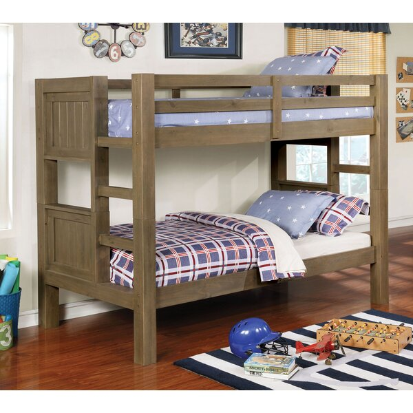 Sharolyn Twin Over Twin Bunk Bed by Harriet Bee