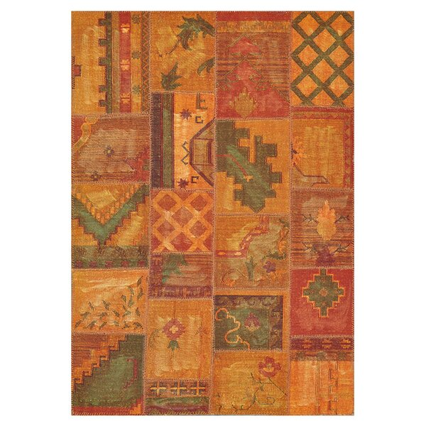 Zawacki Hand-Woven Brown Area Rug by Bloomsbury Market