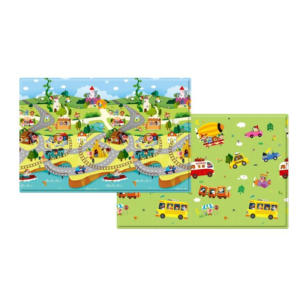 Story World Floor Mat By Baby Care.