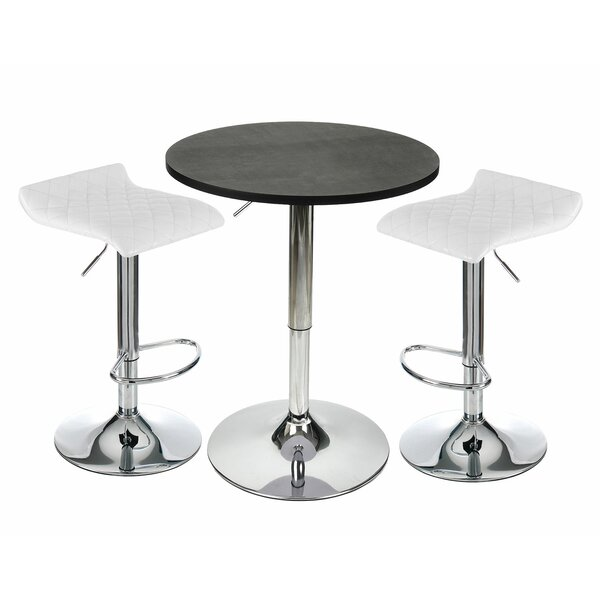 Eoghan 3 Piece Counter Height Dining Set by Orren Ellis Orren Ellis