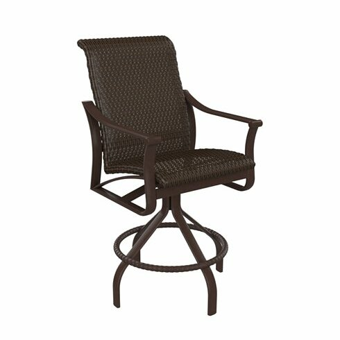 Corsica Swivel 25 Patio Bar Stool by Tropitone