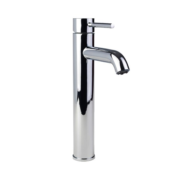 European Vessel Single Hole Lever Handle Bathroom Faucet by Fontaine by Italia
