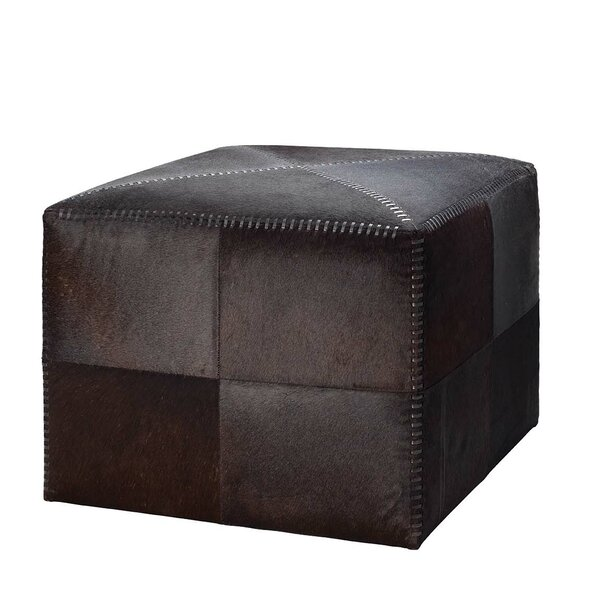 Volpe Leather Ottoman By Foundry Select