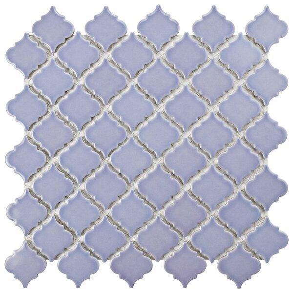 Pharsalia 2.25 x 2 Porcelain Mosaic Tile in Purple by EliteTile