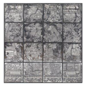 'Antique Street Map' Framed Graphic Art by Trent Austin Design