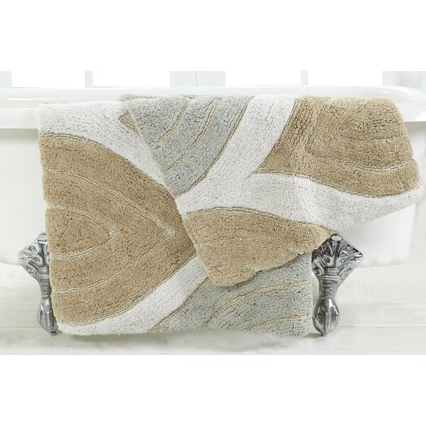 Steadman 2 Piece Bath Rug Set by Alcott Hill