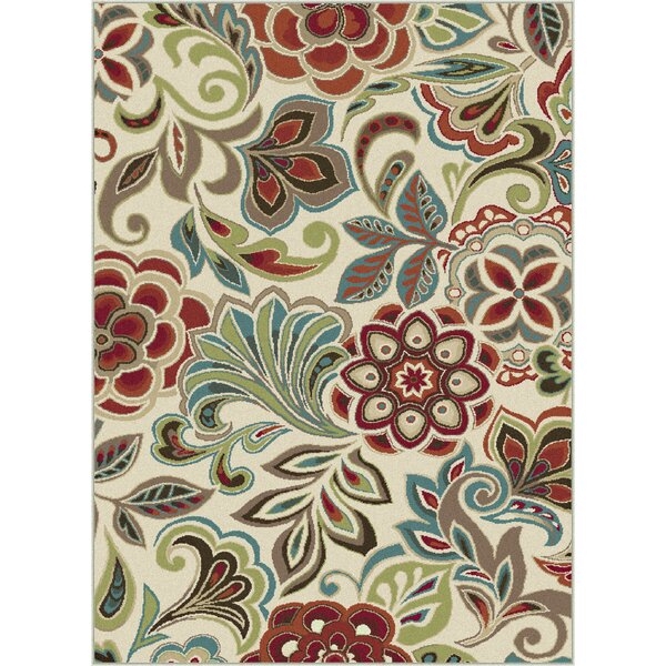 Brightling Ivory Area Rug by Andover Mills