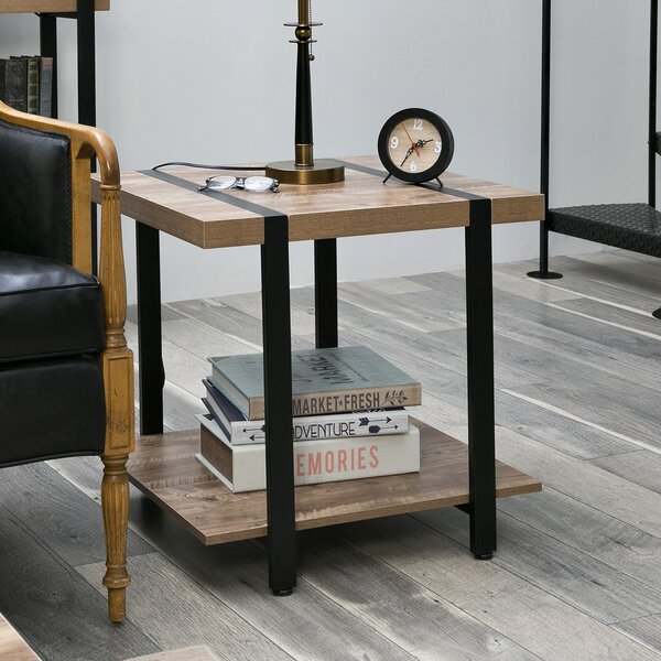 Rainey End Table by Union Rustic