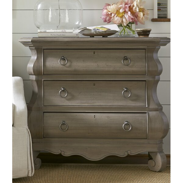 Baily 3 Drawer Nightstand by Darby Home Co