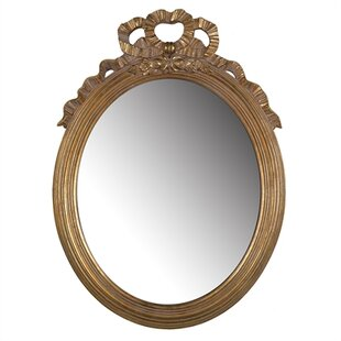 Astoria Grand Gold Polyresin Accent Wall Mirror
