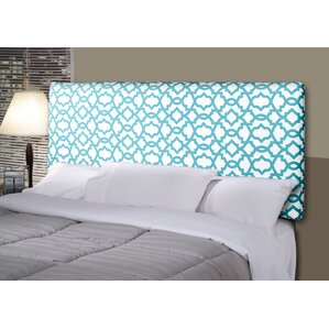 Devaney Contemporary Upholstered Panel Headboard by Three Posts