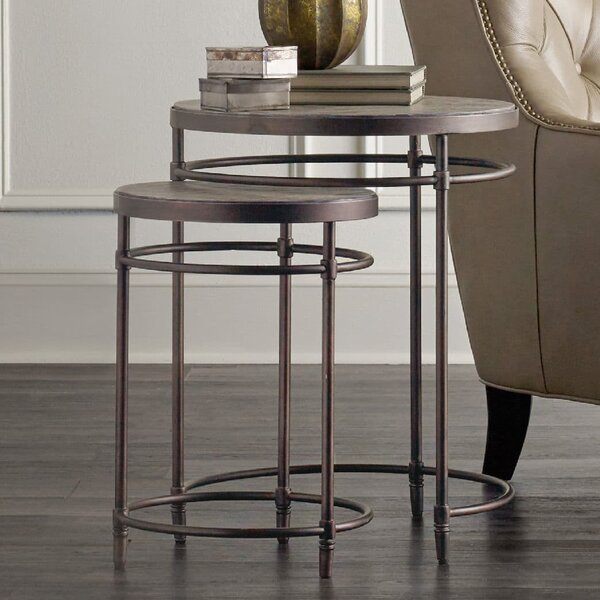 St. Armand 2 Piece Nesting Tables by Hooker Furniture Hooker Furniture