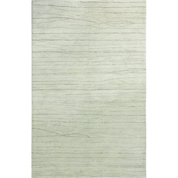 Dynes Hand-Tufted Silver Area Rug by Union Rustic