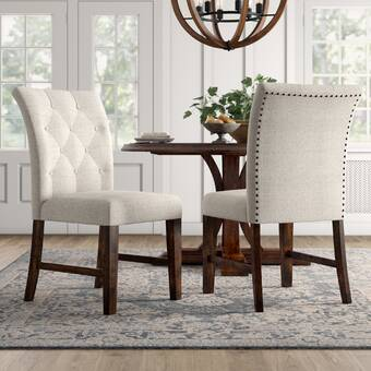 Swell Birch Lane Heritage Calila Upholstered Dining Chair Machost Co Dining Chair Design Ideas Machostcouk