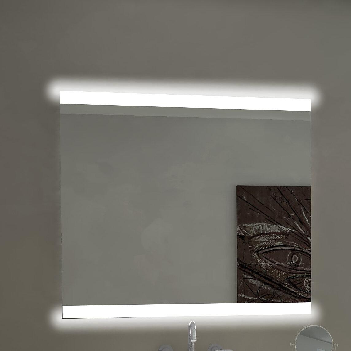 Paris mirror backlit bathroom vanity mirror wayfair