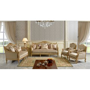 Cutrer Victorian 6 Piece Living Room Set by Rosdorf Park