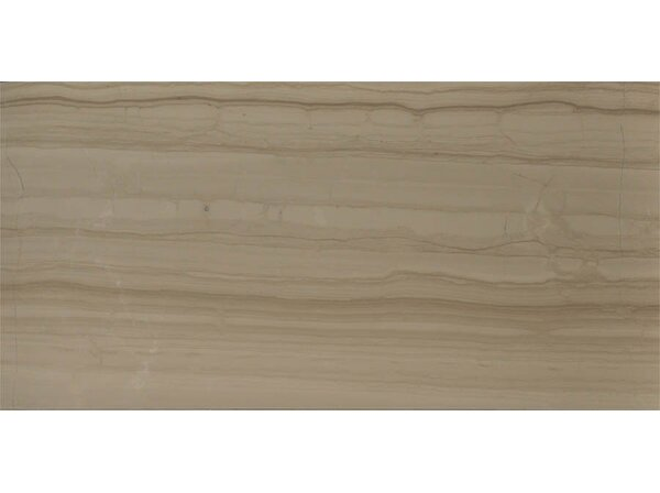 Yves Rocard 12 x 24 Marble Wood Look/Field Tile in Brown by The Bella Collection