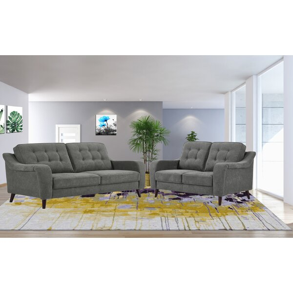 Hooten 2 Piece Living Room Set by George Oliver