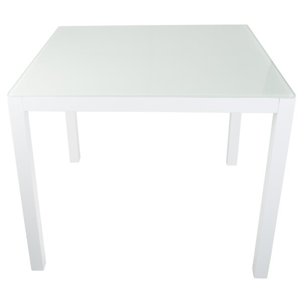 Hollander Glass Dining Table By Ebern Designs