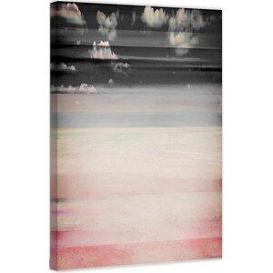 'Sandy Pink' by Parvez Taj Painting Print on Wrapped Canvas by Parvez Taj