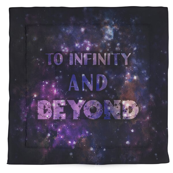 To Infinity Single Reversible Comforter
